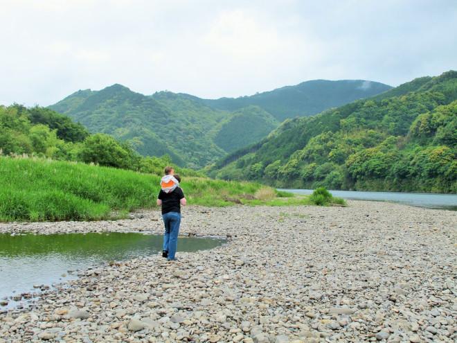 Walking Along Shimanto-gawa
